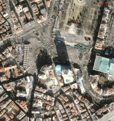 İstanbul, Taksim Metro Girişi Deformasyon Ölçümleri
