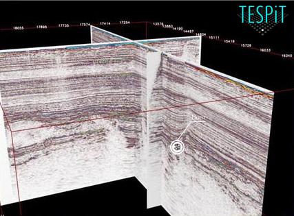 Yeraltı Radarı ile jeolojik bilgilerin birarada gösterildiği bir 3d model